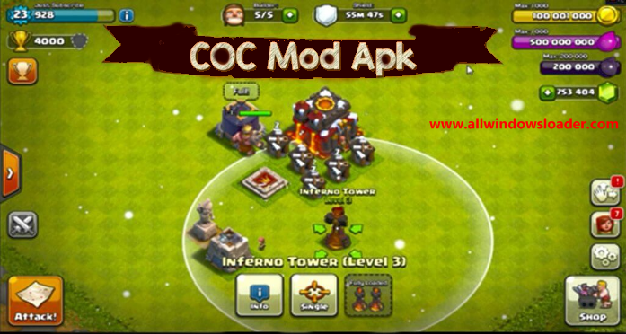 Clash of Clans Hack Cracked/Mod Free Unlimited Gems APK [2020]