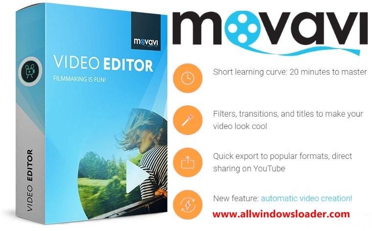 Movavi Video Editor Crack + Activation Key for Windows {2020} Latest