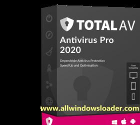 Total AV Antivirus Pro 2020 Crack with Serial Key Free Download (Lifetime)