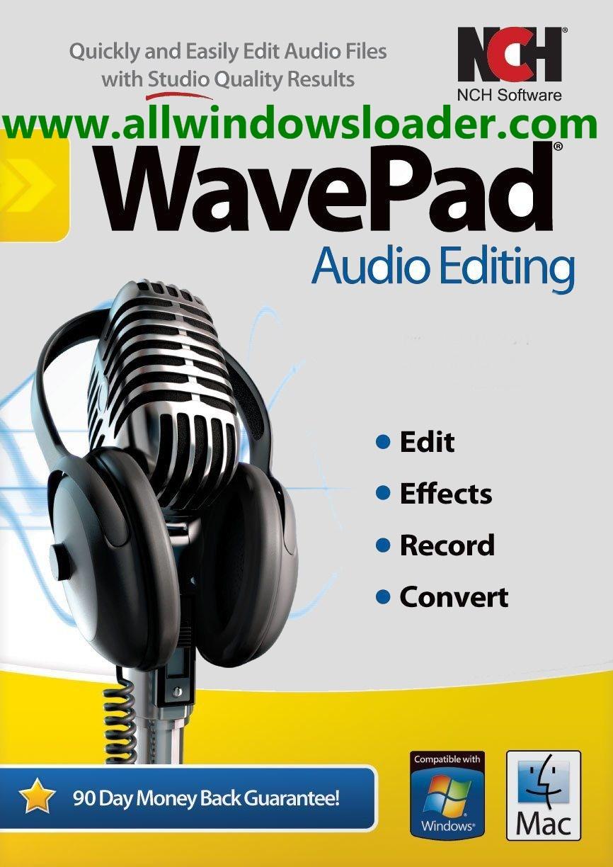 NCH WavePad Beta Crack with Keygen [Win & Mac] 2020