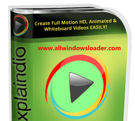 Explaindio Video Creator Crack + License Key 2020