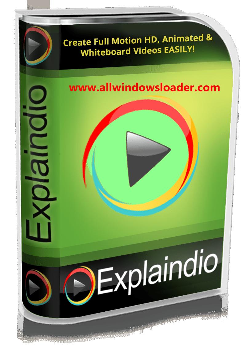 Explaindio Video Creator Crack + License Key 2020