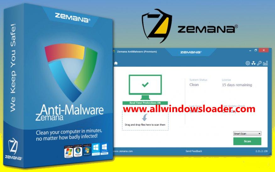 Zemana AntiMalware Crack + Serial Key 2020