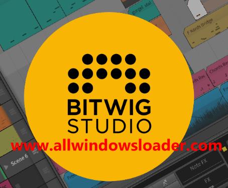 Bitwig Studio Crack with Serial Key Full Version Latest