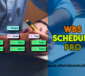 WBS Schedule Pro Crack + Activation Code Latest