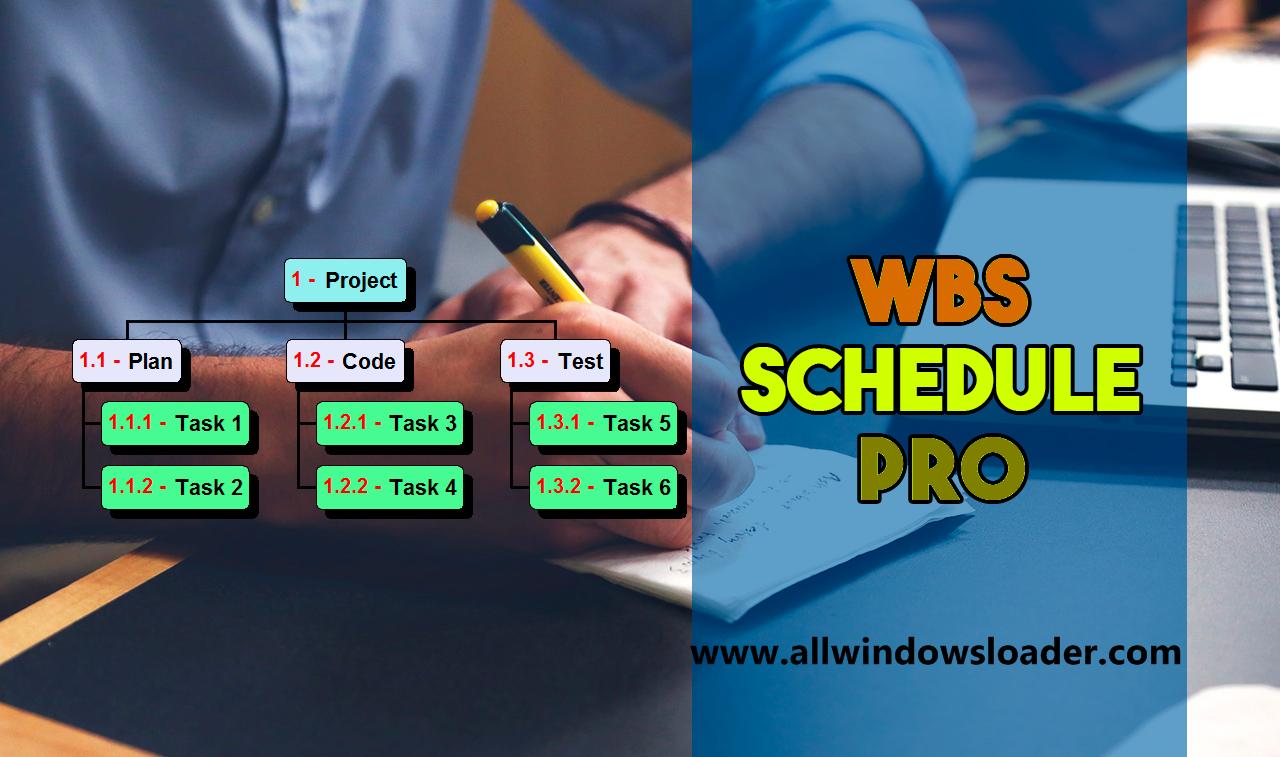 WBS Schedule Pro Crack + Activation Code Latest