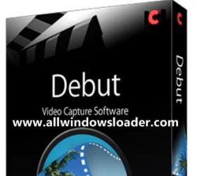 Debut Video Capture Crack with Registration Key Latest Version