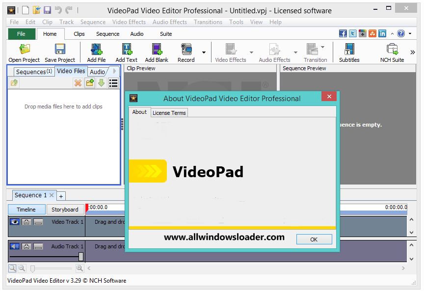 VideoPad Video Editor Crack with Activation Key Latest Version