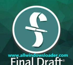 Final Draft Crack plus Activation Key Latest Free Download