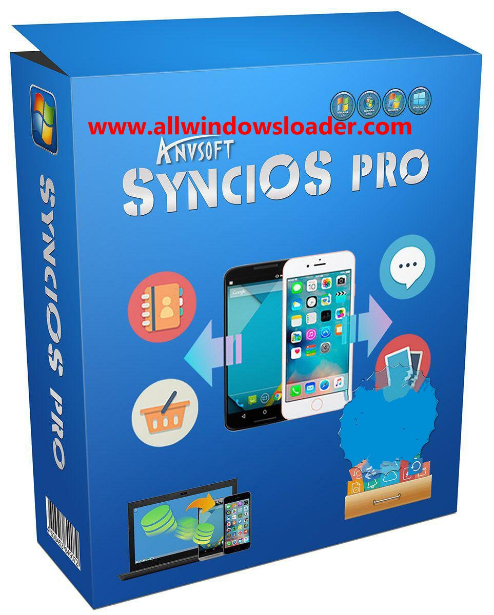 Anvsoft SynciOS Manager Pro 6.6.8 Crack with Keygen Download Latest